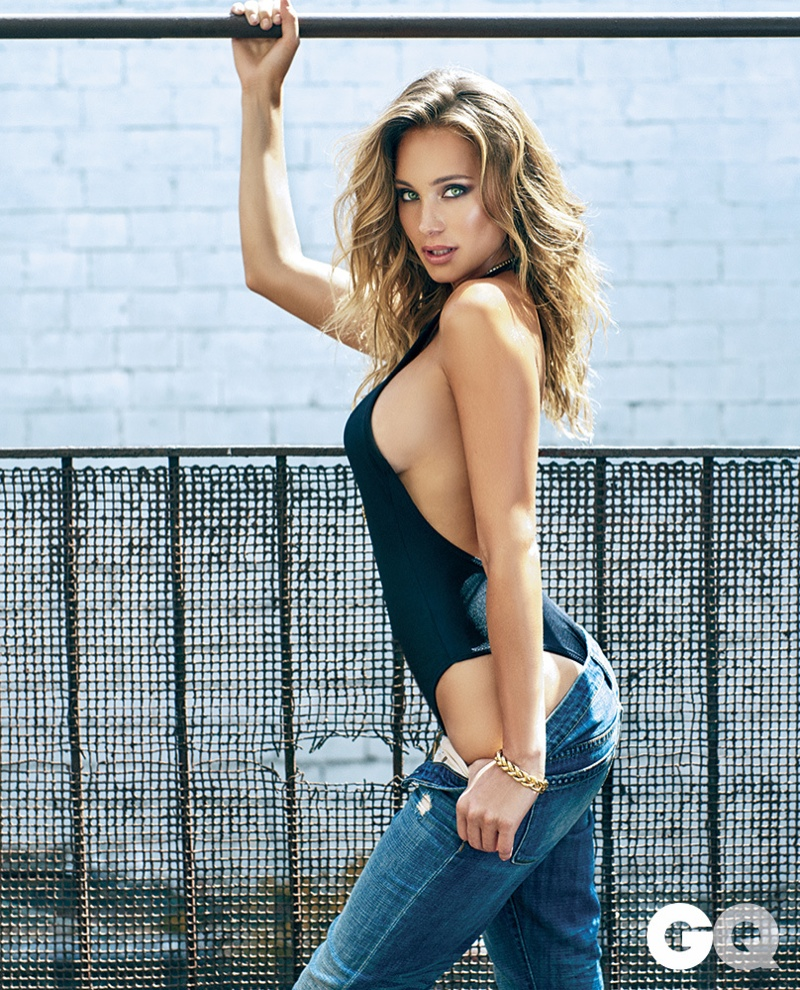 Hannah Davis stuns on the cover of GQ Mexico September ...