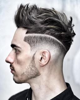 Gaya Model Rambut Pria Wajah Bulat