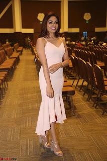 Aishwarya Devan in lovely Light Pink Sleeveless Gown 037.JPG