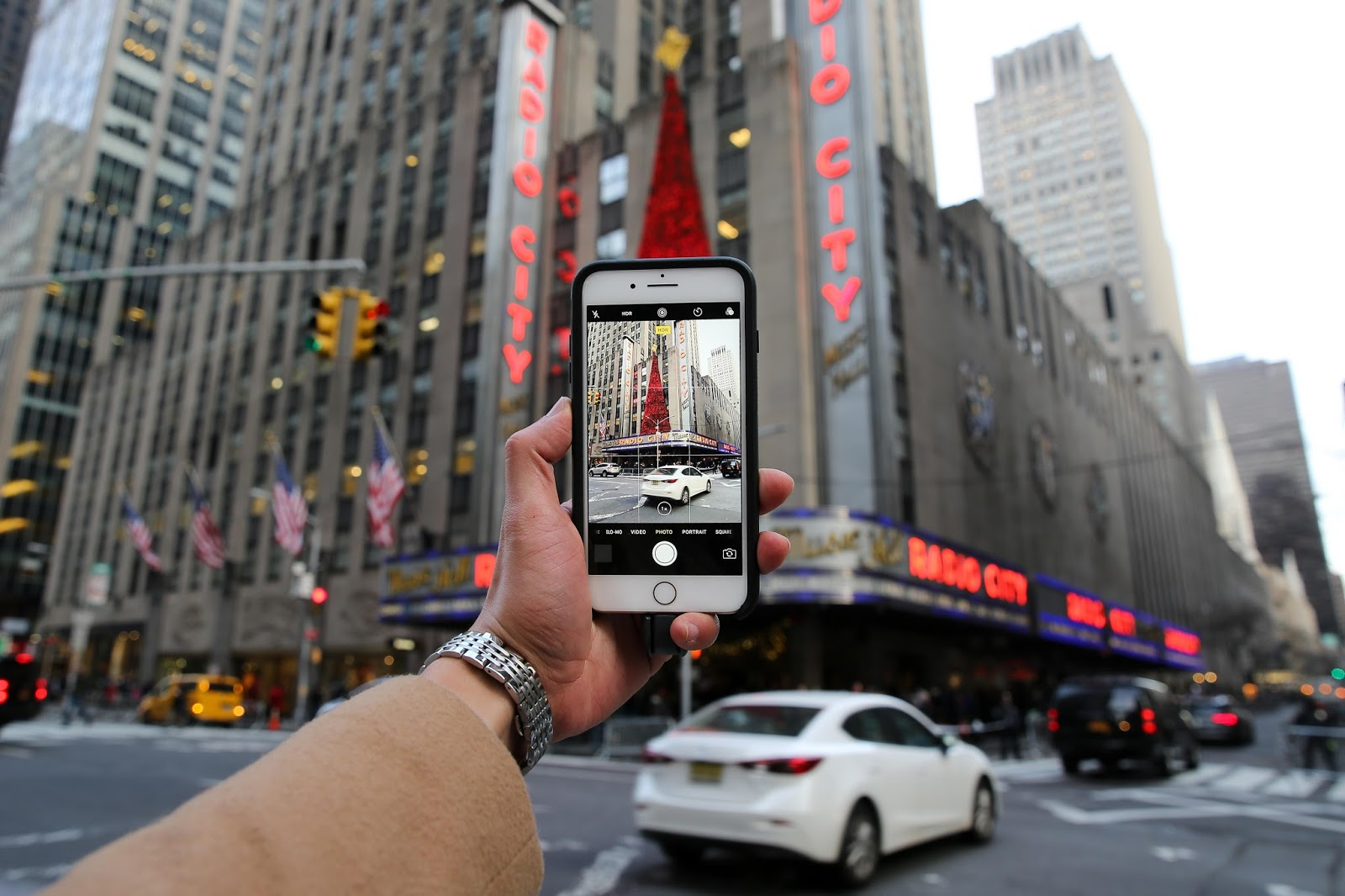 Levitate Style menswear NYC Holiday with Otterbox
