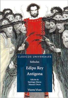 Edipo Rey, reseña, crítica, opinión, resumen, Antígona, literatura, Editorial Vicens Vives, Sófocles, Clásicos universales
