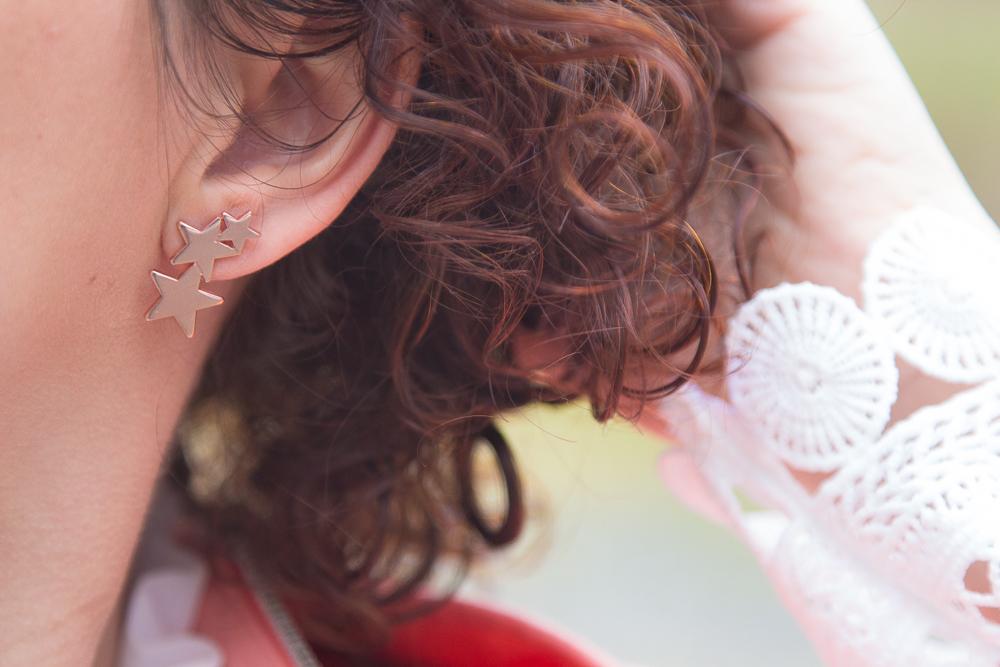 boucles - oreilles - onecklace - etoiles