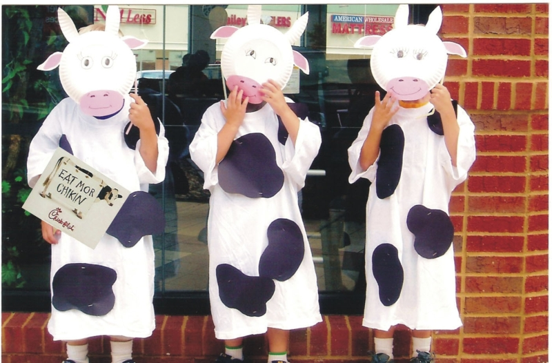 image about Cow Appreciation Day Printable Costume titled Information: Chick-fil-A - Cow Appreciation Working day upon July 12 Model