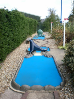 Minigolf at The Golden Palm Resort Skegness