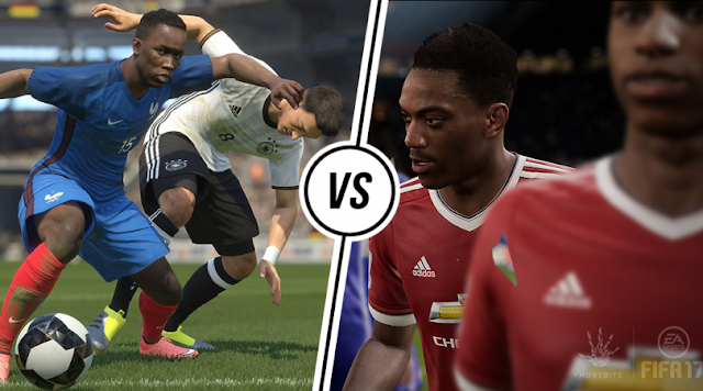 FIFA 17 vs PES 2017 - Mana yang Lebih Baik?