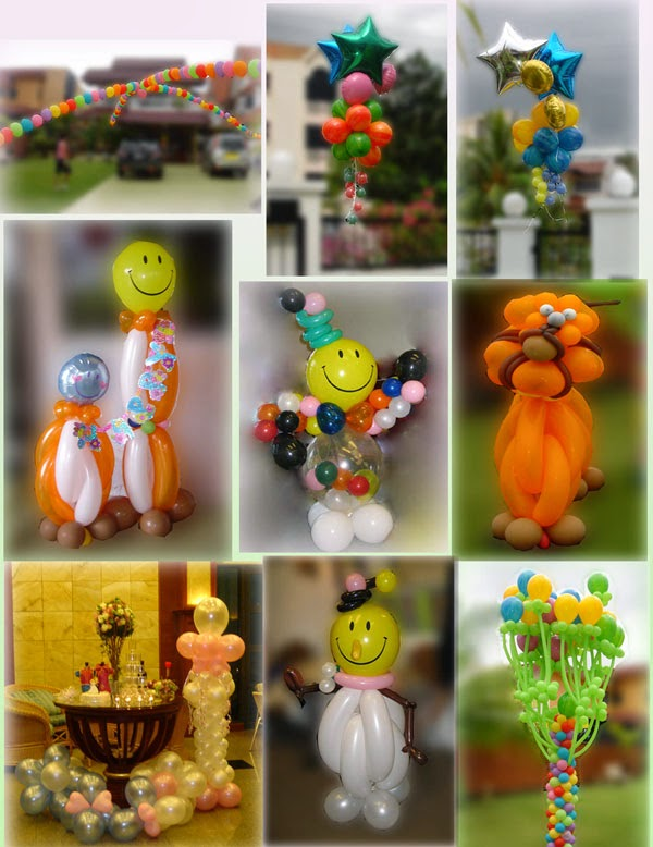 Balon Dekorasi Ulang Tahun Standar