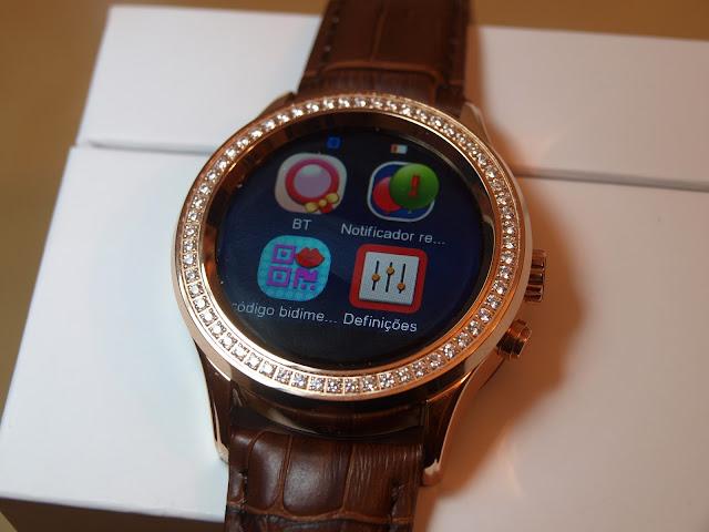 Análise Smartwatch No.1 D2 17