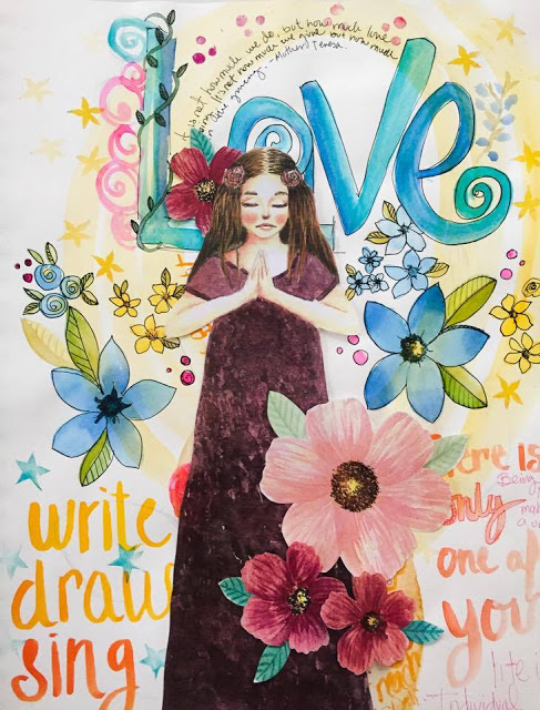 Paper dolls for art journals