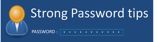 choose a strong and secure password