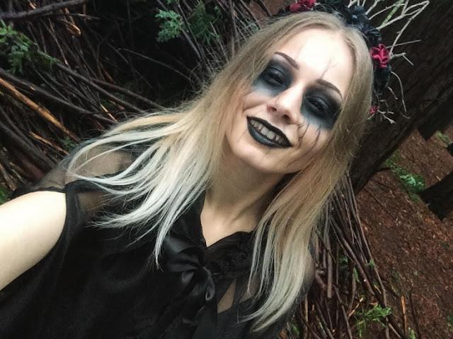 maquillaje de demonio