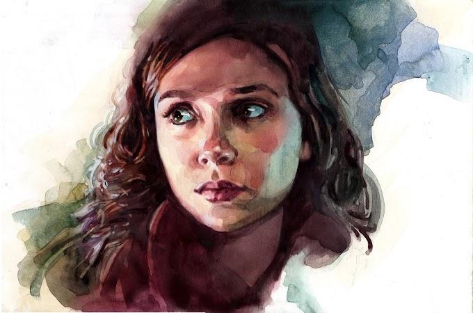 الرسم برصاص لـ إليزابيث أولسن