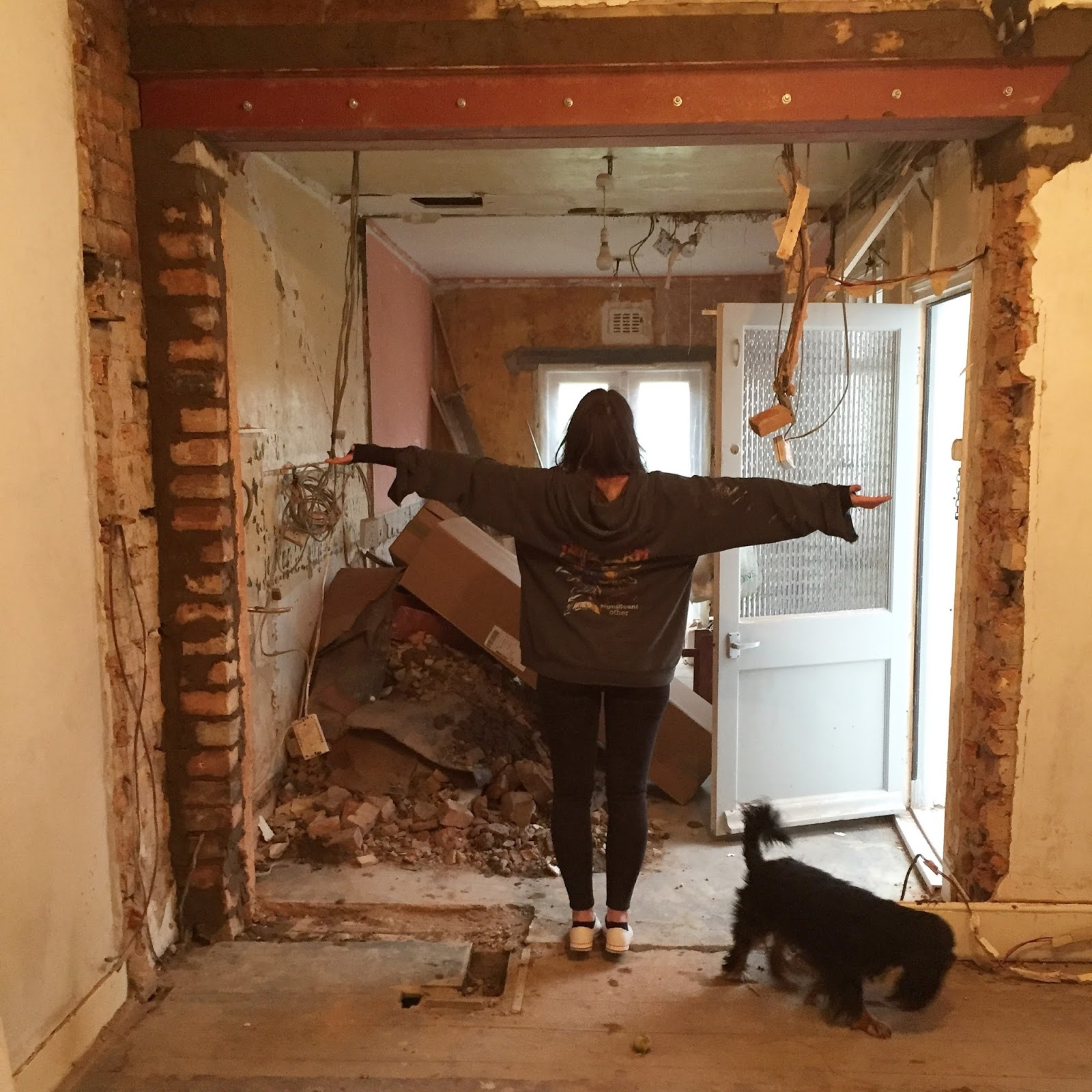 Uk home renovation interiors and diy blog for Removing part of a load bearing wall