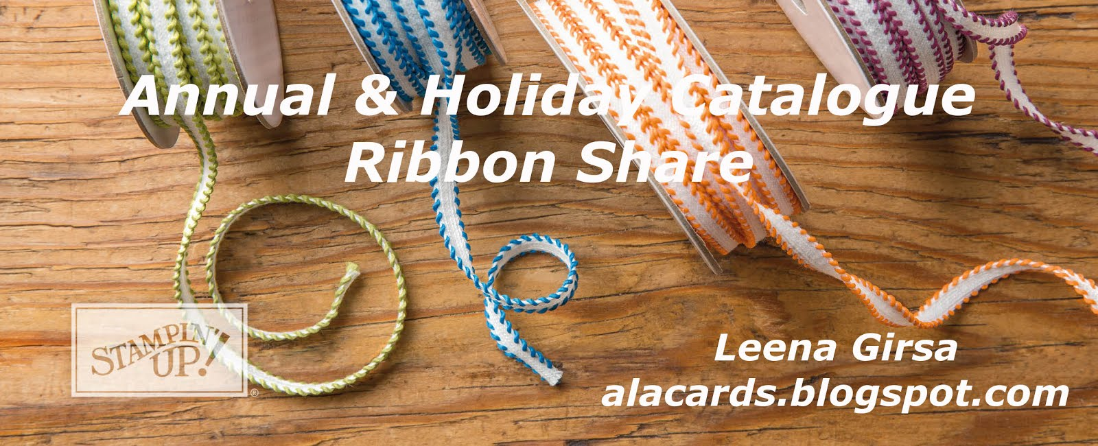 Annual & Holiday Catalogue Ribbon Share