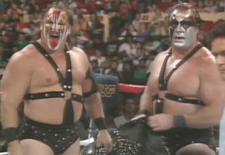 WWE/WWF SUMMERSLAM 1988: Demolition prepare to defend their titles against The Hart Foundation