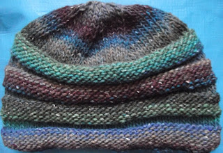 Lucy Neatby Knit Pattern Scrunchie Hat or Headband
