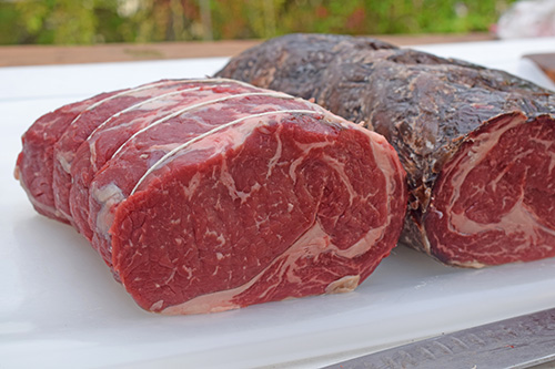 Dry aged, Certified Angus Beef Brand whole beef ribeye