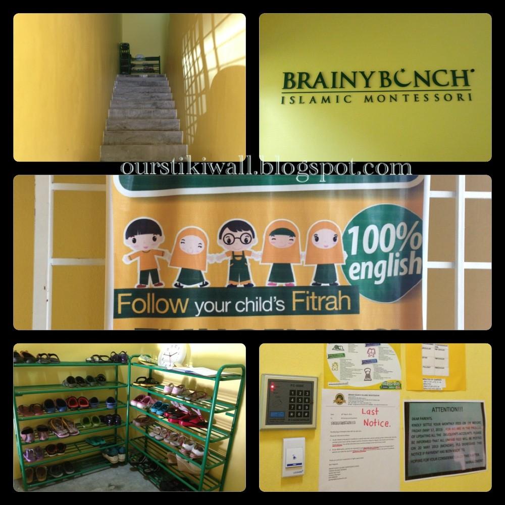 My Story Brainy Bunch Islamic Montessori His 1st Day At School