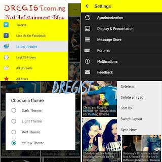 Dregist Mobile App