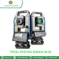 JUAL TOTAL STATION SOKKIA IM-52 SAMARINDA | HARGA SPESIFIKASI | SERVICE KALIBRASI | GARANSI RESMI | FREE TRAINING
