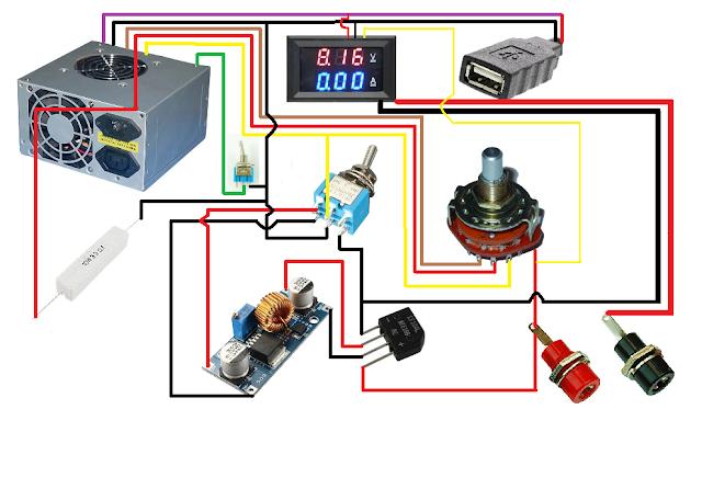 DIY Power Supply Adjustable