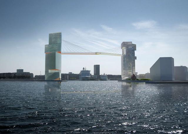 Copenhagen Gate Steven Holl Architects Pedestrian bridge dezeen 1568 2 - The Bicycle Bridges of Copenhagen