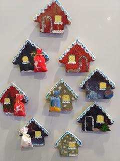 сувенир, магнит на холодильник, новогодний подарок, недорогой подарок, Яна SunRay, домик, дом, домашний очаг, настроение своими руками, прикольный подарок, оригинальный подарок, мастерим с детьми, сделаем сами, сделай сам, поделки с детьми, мастер-класс