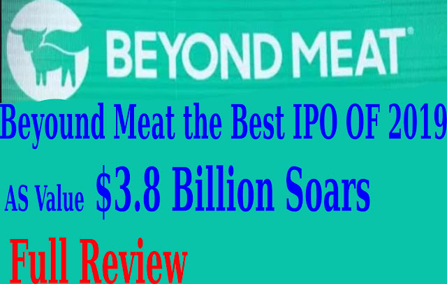 Beyond Meat the Best IPO of 2019 as Value $3.8 Billion Soars t2update