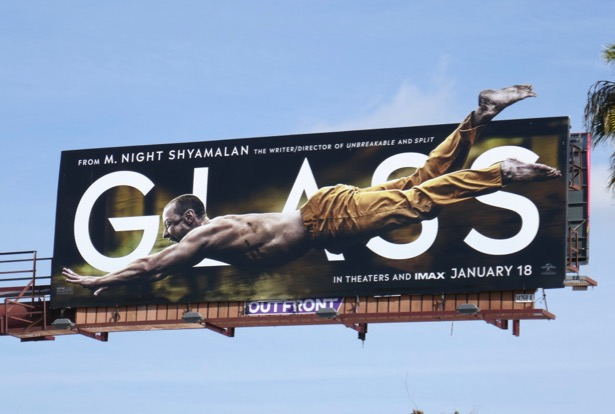 Glass Beast cut-out billboard