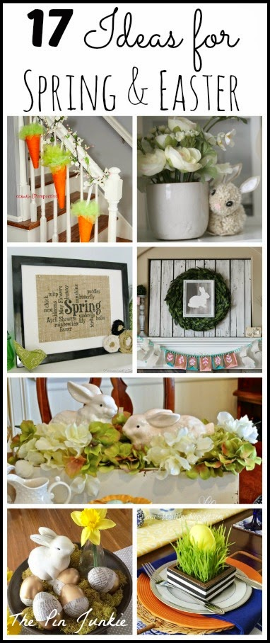 spring easter craft decorating ideas
