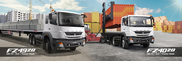 Spesifikasi Harga Mitsubishi Tractor Head Bandung