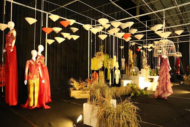 Art installation pada Festival Kebaya 2017.