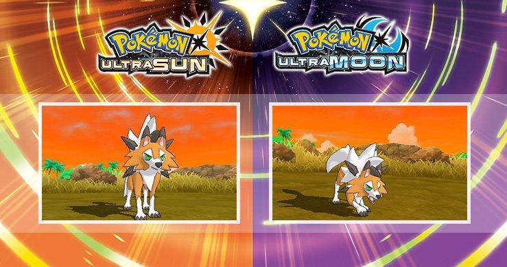 Pokémon Ultrasol y Ultraluna contará con nueva forma de Lycanroc