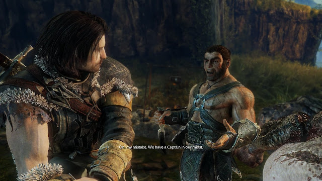 Screenshot from Middle-earth: Shadow of Mordor