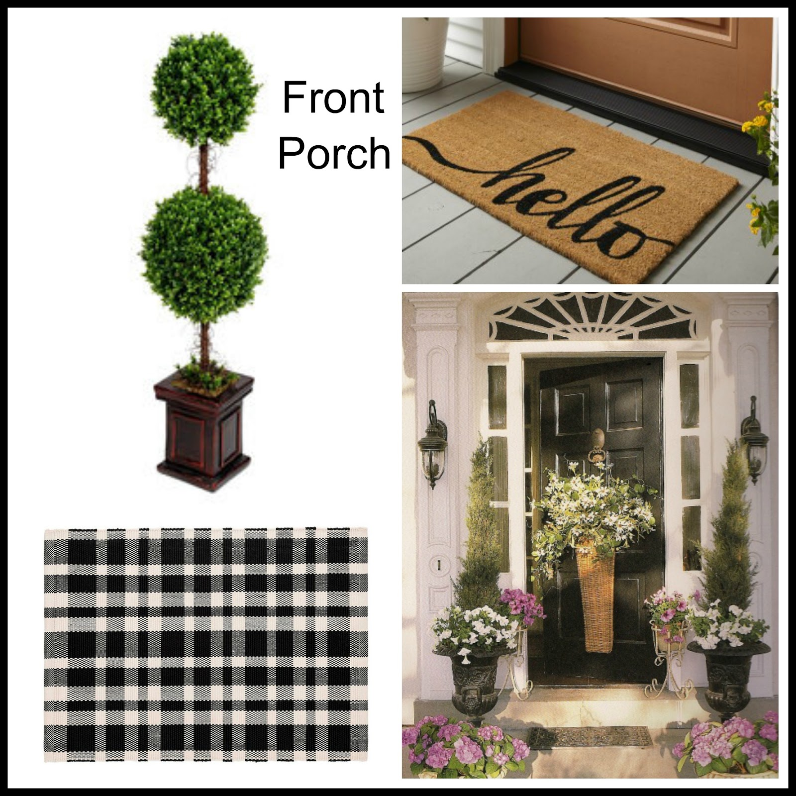 Porch Decor Ideas For A Small Stoop A Stroll Thru Life