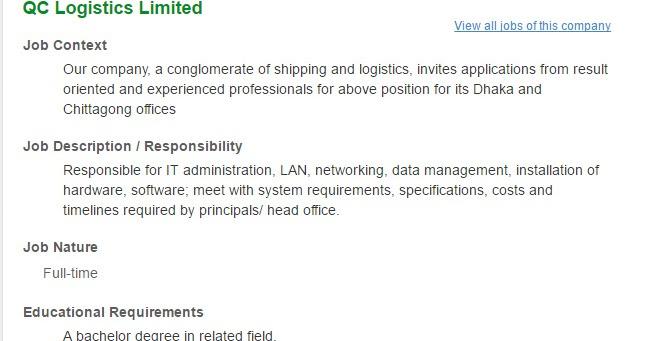 logistics manager resume – Logistics Manager Job Description