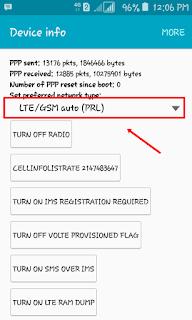 Cara Mengunci Jaringan Internet ke 4G LTE pada Android