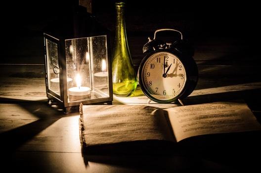 La lectura con velas