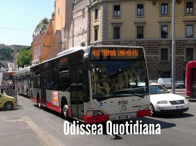 Autobus in arrivo a Roma, facciamo ordine