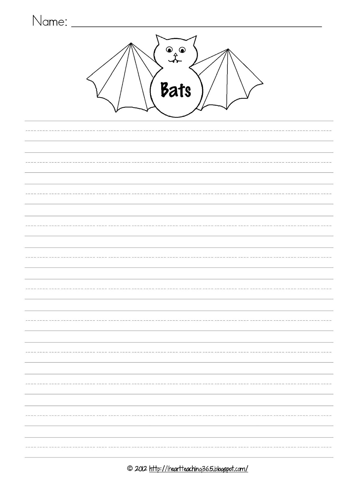 I Heart Teaching 365 Batty Fun