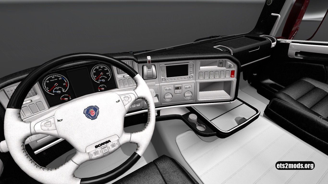 WBLE Interior for Scania RJL v 3.0