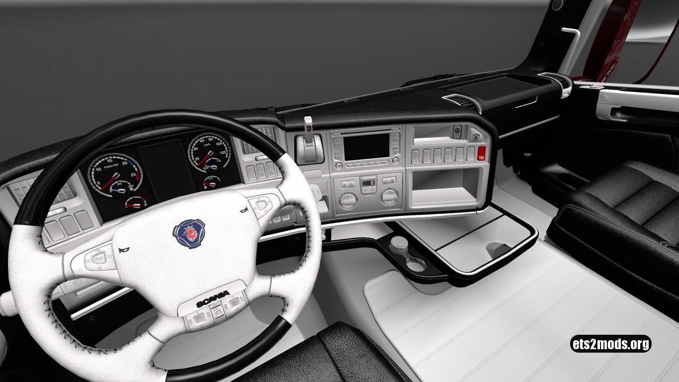 WBLE Interior for Scania RJL v 3.0