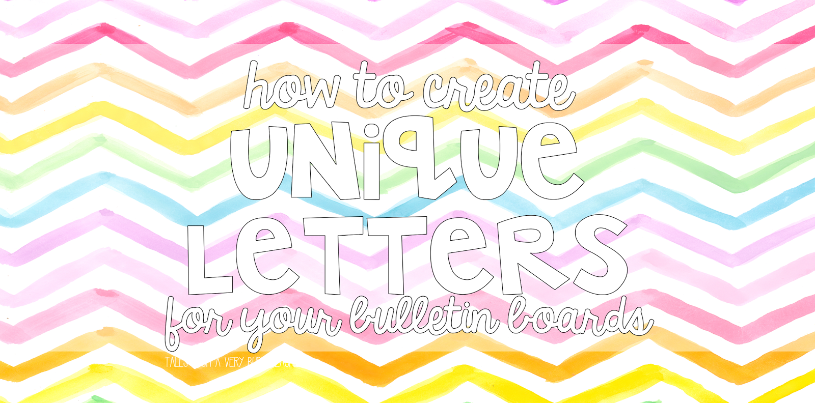 Unique bulletin board letters for your classroom tales from a unique bulletin board letters for your classroom spiritdancerdesigns Images