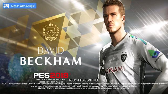 Dream League Soccer 2018 Mod Tampilan PES 2018 By Diptavir