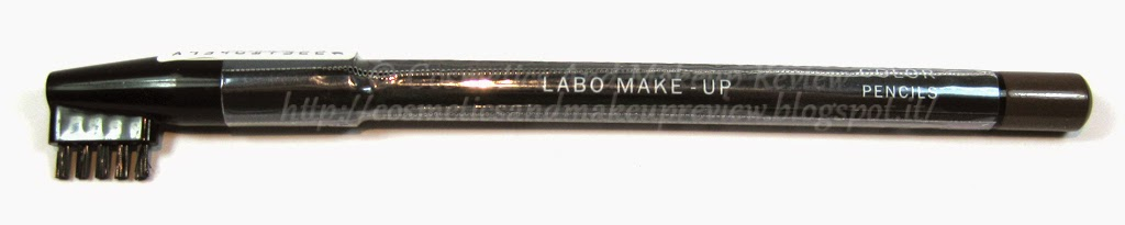 Labo Make-Up - Extra Color Pencils - Eyebrow Pencil n.03 Medium Brown - packaging
