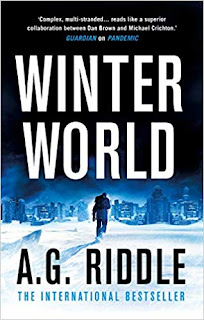 """Winter World"""" by A.G. Riddle (Book cover)"""