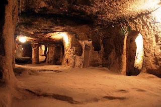 Özkonak Underground City Turki