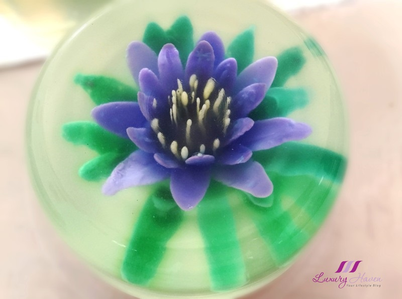 beautiful edible lotus flower 3d konyaku jelly art