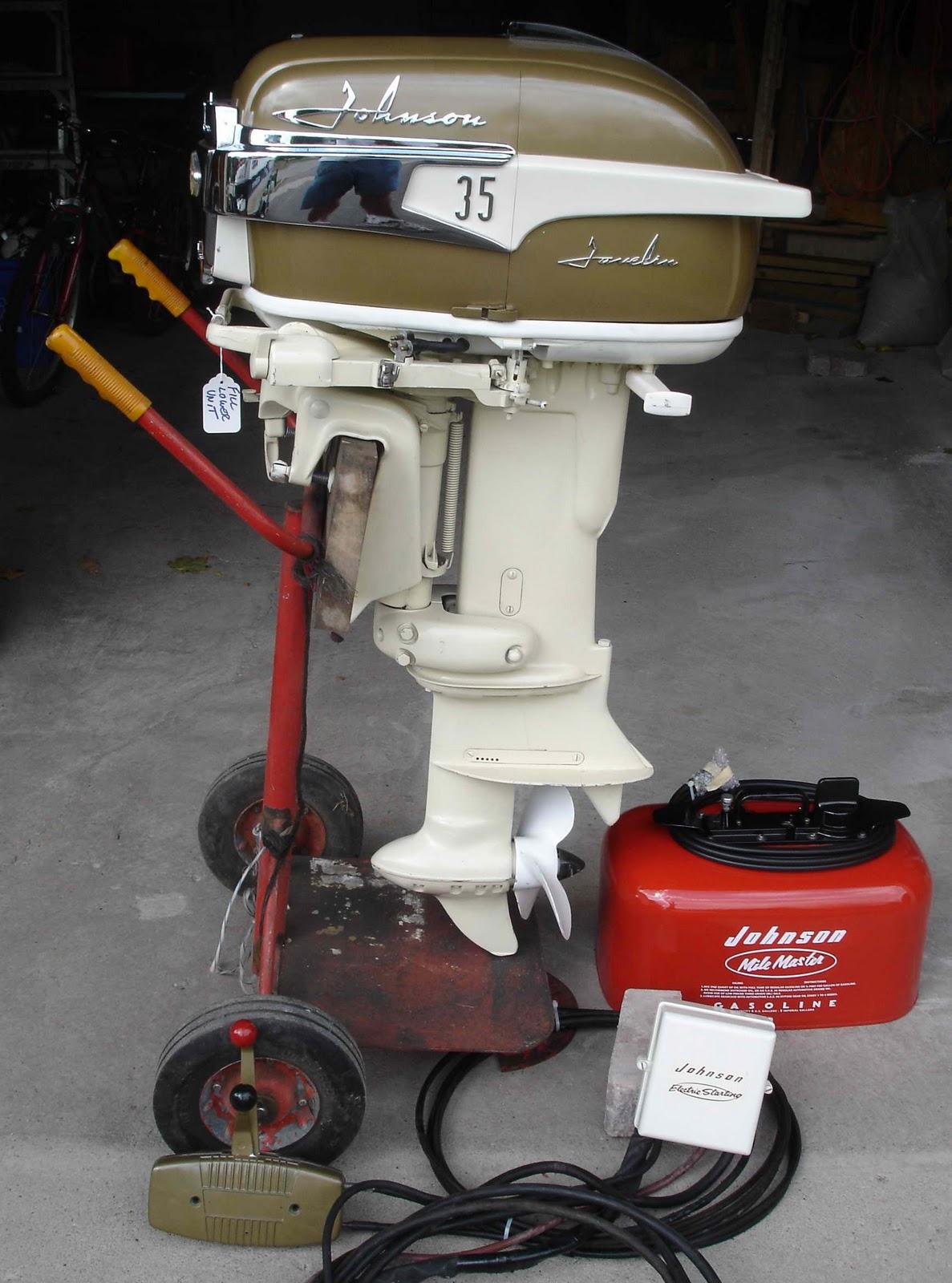 Vintage Outboard Engine 34