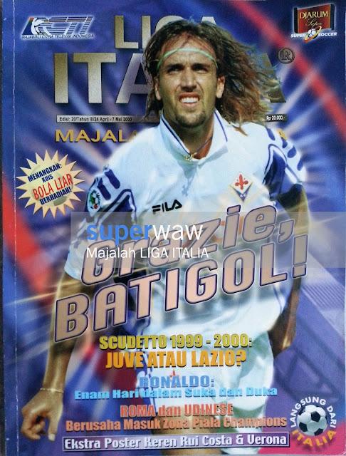 Majalah Liga Italia Grazie Batigol