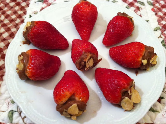 stuffed strawberries recipe